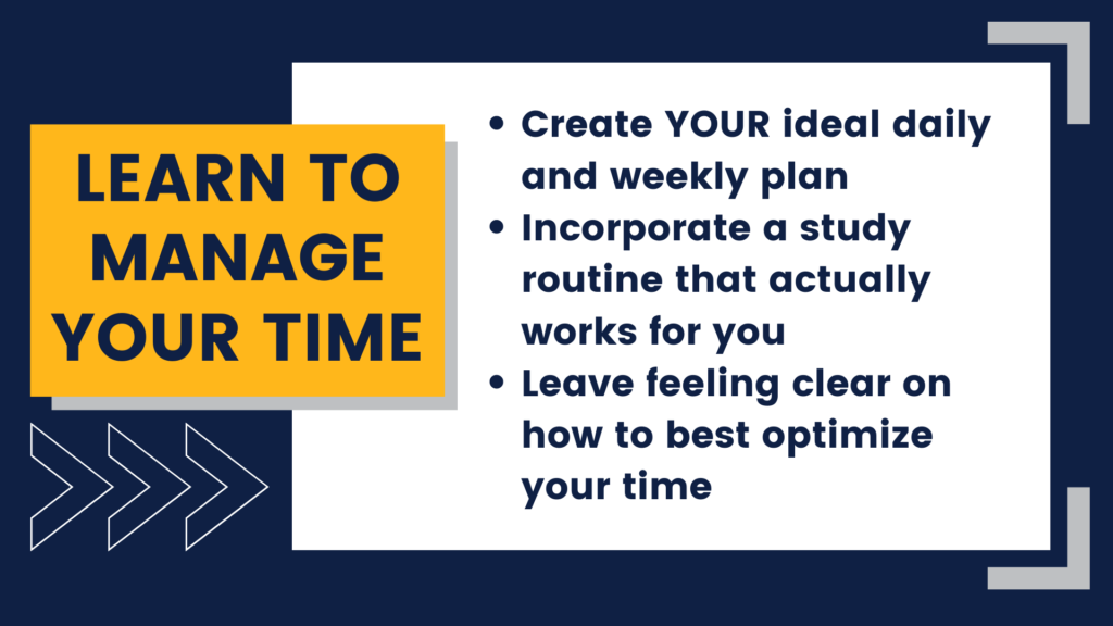 Learn to Manage your Time